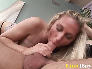 Horny Blonde Aunt Getting Fucked By Her A Young Guy