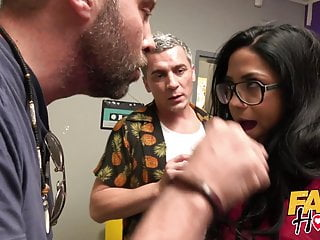 Fake Hostel Spanish Couple Cuckold Girlfriend Squirts