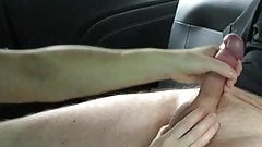 Wife car wank