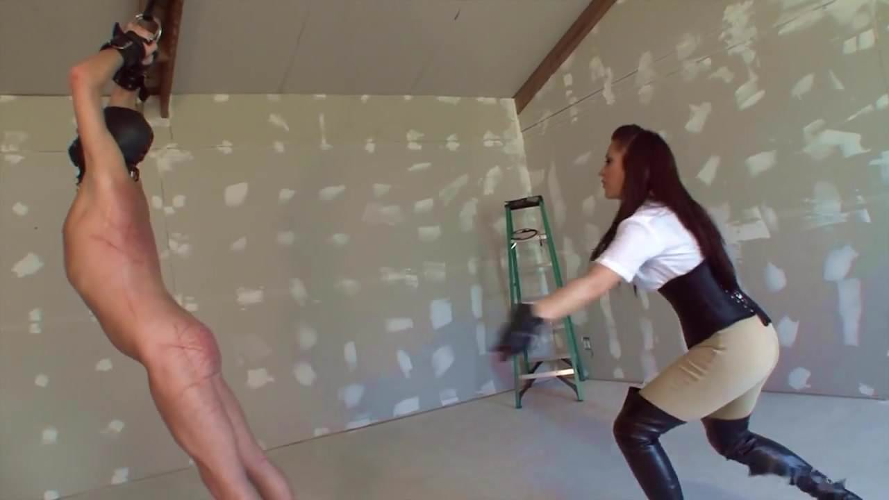 Whipping videos male femdom slave