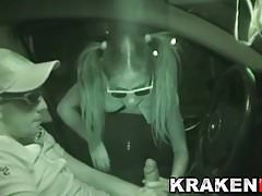 Krakenhot - Amateur video of sex in the street. Part 2