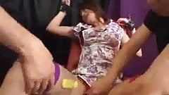 Tied Up Japanese Chick Fucked