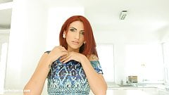 Amina Danger gets her holes filled up with jizz of creampie