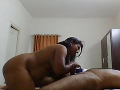 Desi maid servicing strong desi cock