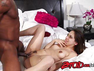 Sara Luvv destroyed by her stepbrother's big black dick