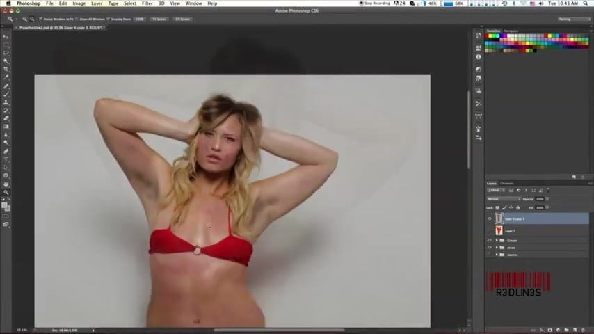Photoshop Turns Pizza Into Woman