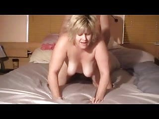 Look into the Camera #24 (Blonde Mature BBW Doggystyle)