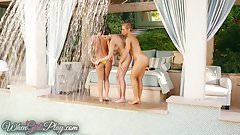 Twistys - Ariana Marie Abigail  vs Nicole Aniston porn image