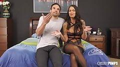 Big Tits Tattooed Babe Trinity Blaze Gets Fucked Live