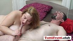 Big tits pregnant Euro MOM