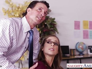 Preview 2 of Cutie in glasses Presley Hart fucks in the office