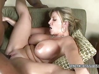 Blonde MILF Sara Jay is getting her twat pounded hard