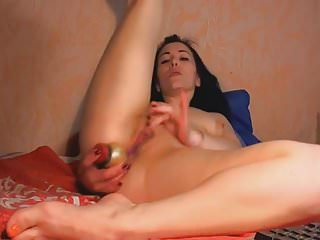 Hot Babe Fucked Both Holes At The Same Time