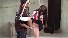 Dominated And Spanked In A Schoolgirl Uniform