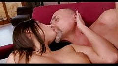 OLD MAN AND TEEN n18 brunette