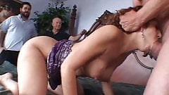 Anal 3some For Swinger Latina Wife