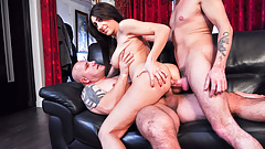 LETSDOEIT - French Babe Hard ANALyzed and Double Penetrated