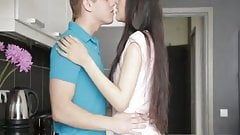 Beautiful russian teen girl fucked hard