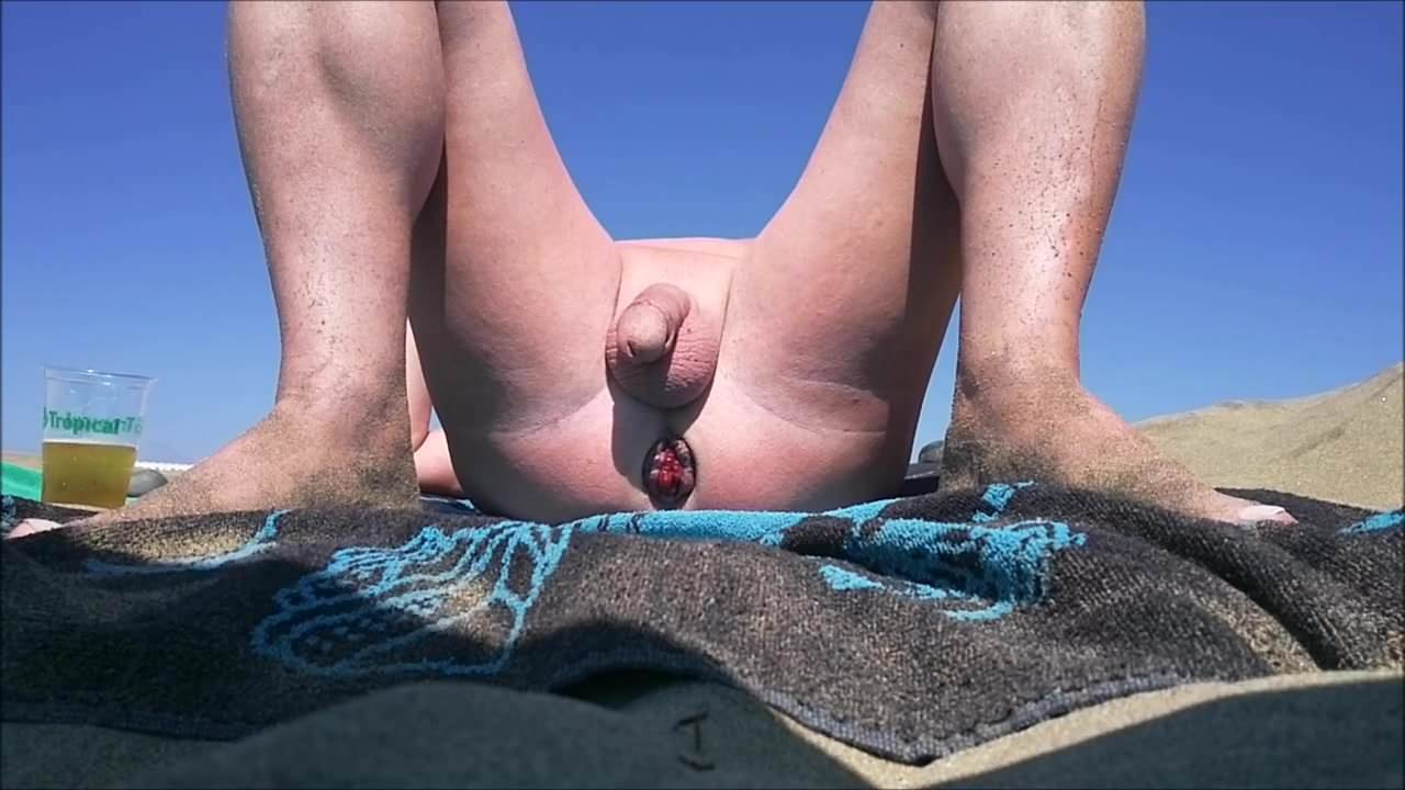 Prolapse Nudist Small Cock Public Beach Naked Voyeur-6035