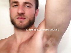 Armpit Fetish - Chris Armpits Part13 Video1