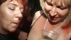 Velvet Swingers Club members wife with 3 random guys