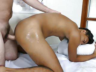 Preview 5 of Daddy Bareback Fucks Asian Boy Josh