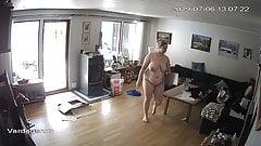 Hidden Cam, wife fat