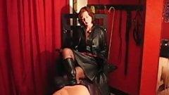 a slave worships mistress
