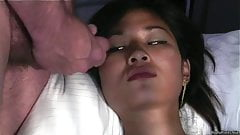 Really Hot Asian Girl  Suck And Facial