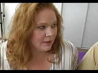 Big Titted BBW Redhead Roze Gets Her Fat Quim Fucked