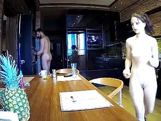 snr she is cooking nude 5