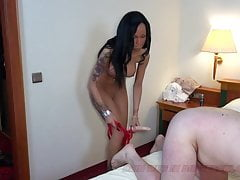 BDSM ebony german Strapon Teen