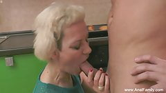 Mature Mother Gets Ass Fucked