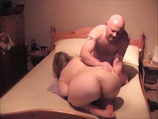 32yo British Ex-GF spunked on her big ass!