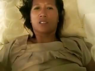 White guy fucks Thai mom (POV)