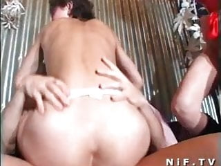 French orgy in a swingers club