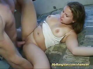 young chicks firt bangvan orgy