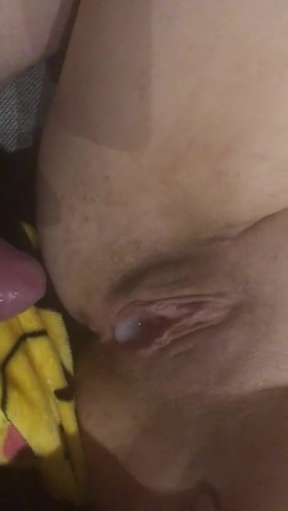 Cheating slut wife fucked. Two orgasms and creampie