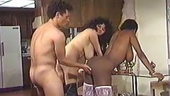 Vintage Big Breast Threesome