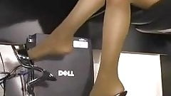 sexy secretary playtime office