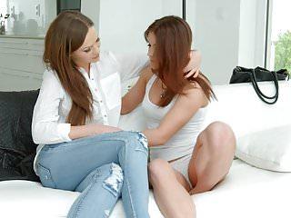 Download video bokep Sensual lesbian scene by Sapphix with Evalina Darling a Mp4 terbaru