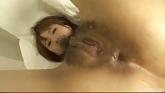 Simple doctors visit gets naughty for Yui Misaki