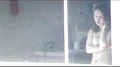 Window Voyeur: Teen naked