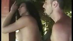 Hot Brazilian Brunette Shemale fucked