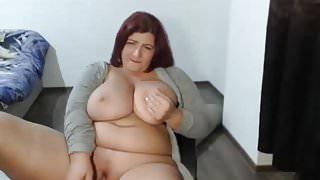 Big Natural Tits MILF Webcam
