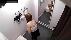 Peeping Czech booth