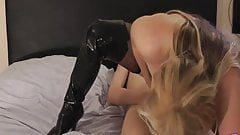 British blonde creampie fuck