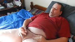 Me masturbating and cumming on my bed. (Comments Welcomed)