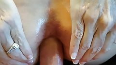 Amateur Hotwife Painful Anal and ATM