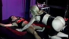 Dominatrix Nina Harltey playing with sex slave